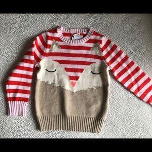 Crewcuts Girls Owl Sweater